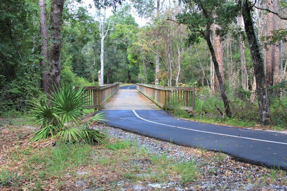 gulf coast paved biking trail
