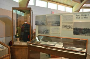 museum at Fort Morgan, Alabama