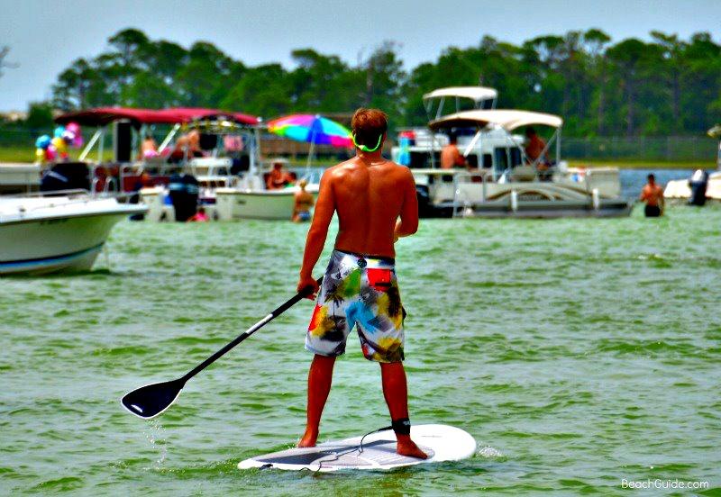 Crab Island in Destin, Florida.