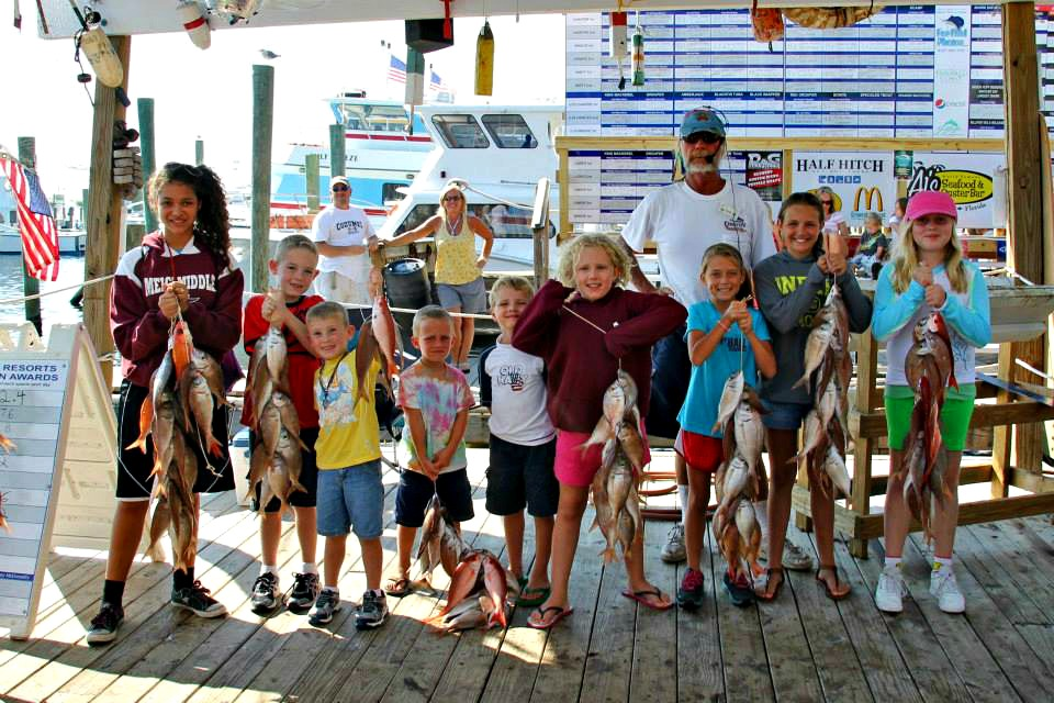 October means month long seafood celebration in destin for Destin fishing rodeo