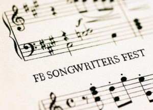 fb songwriters fest sheet music