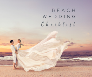 Beach wedding checklist
