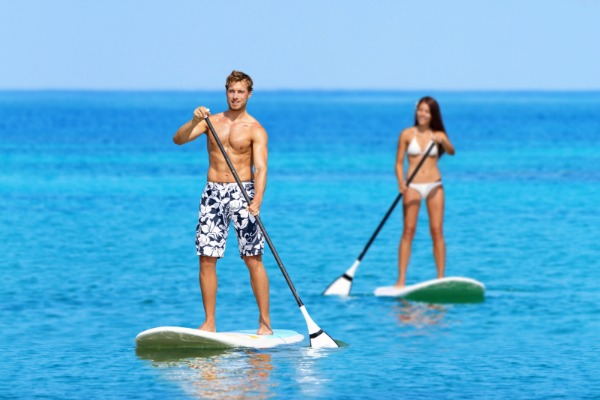 SUP - paddleboarding in Florida