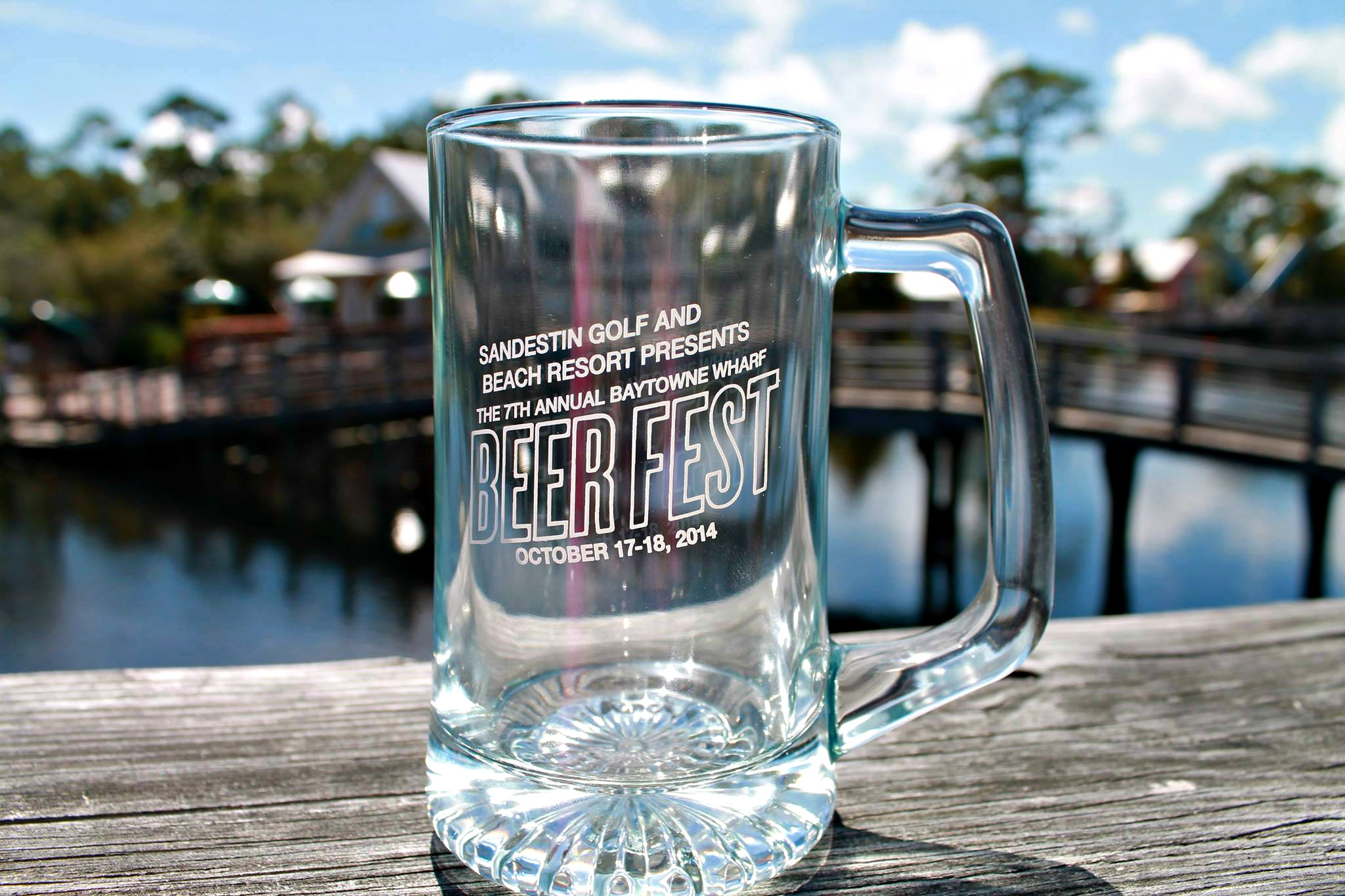 baytowne wharf beer fest mug