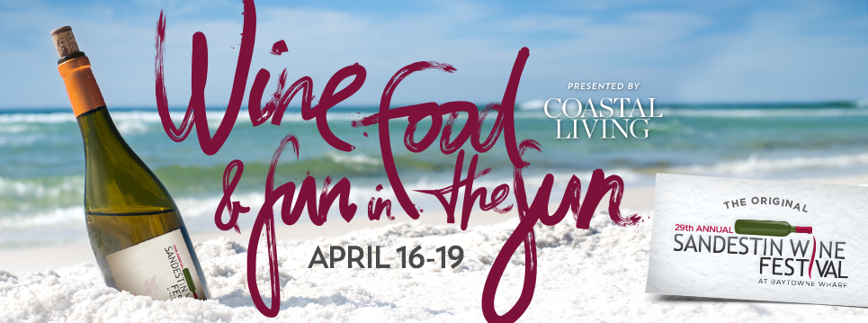 dates for Sandestin Wine Festival 2015 are April 16 to 19