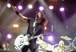 Foo Fighters perform at a previous Hangout Music Festival in Gulf Shores.