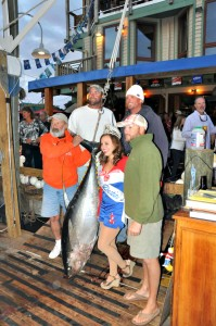 Prize tuna caught during a Destin Fishing Rodeo