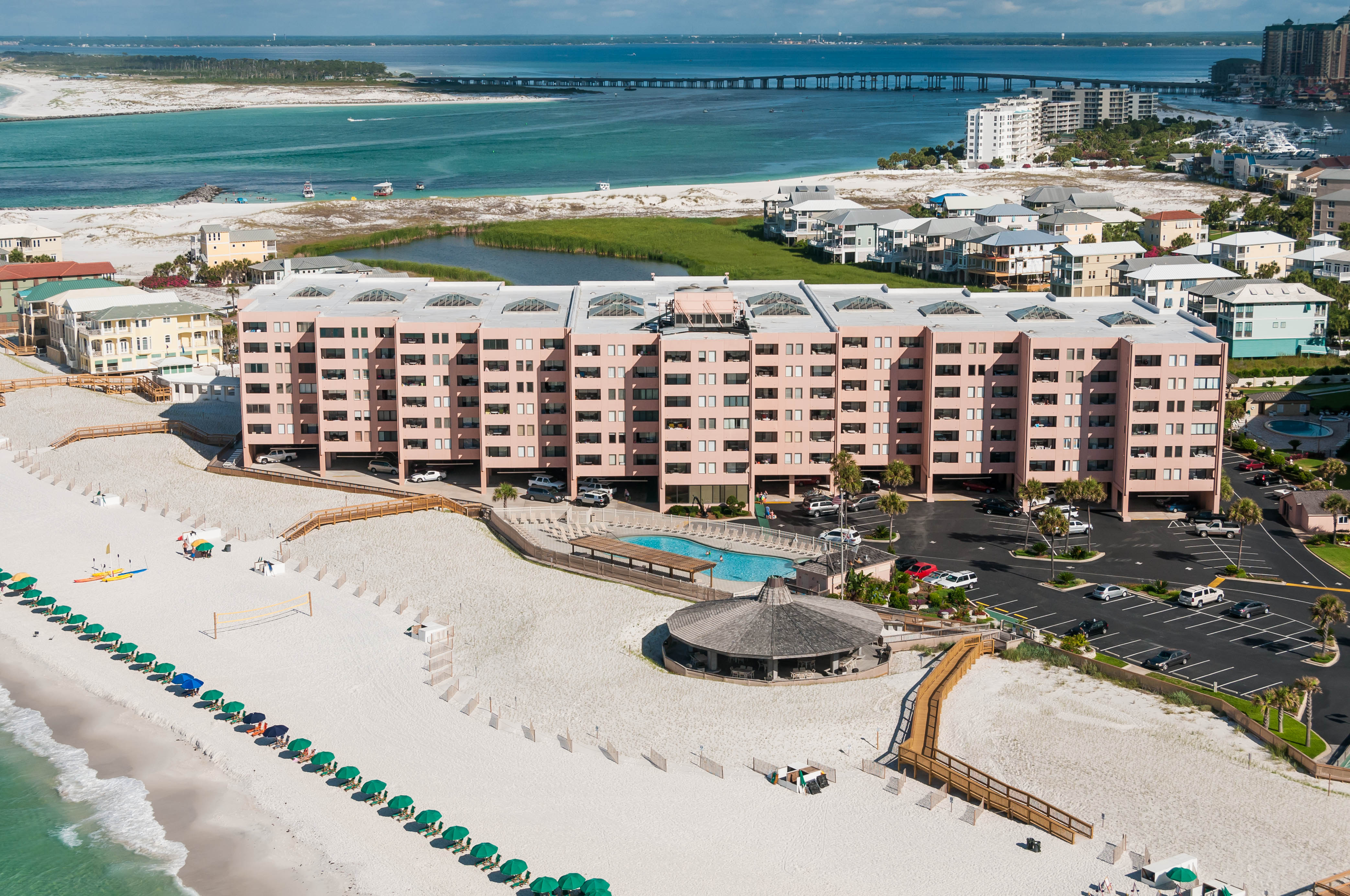 Enjoy a free night, stunning views, and fascinating marine life at Jetty East in Destin