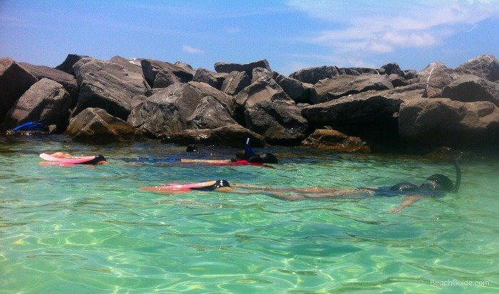Snorkeling at the Destin Jetties