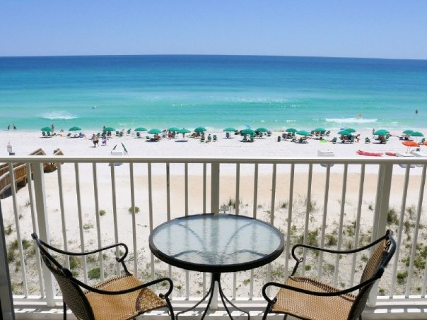 Brooks and Shorey Fort Walton Beach vacation rental view from private balcony