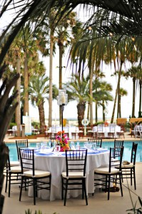 Sandestin Golf and Beach Resort Beach Club wedding reception