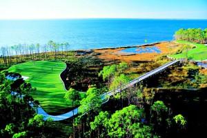 Sandestin's Burnt Pine Golf Club waterfront views