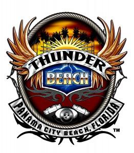 Thunder Beach Panama City Beach bikers' rally logo