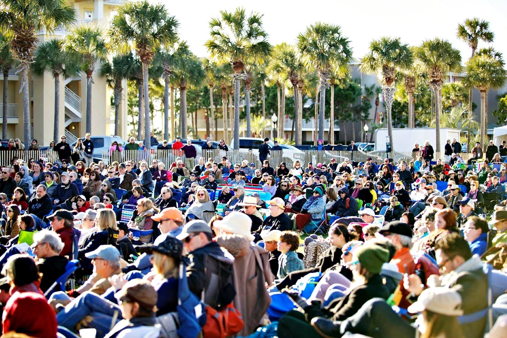 30A Songwriters Festival big audience in Gulf Place Amphitheater