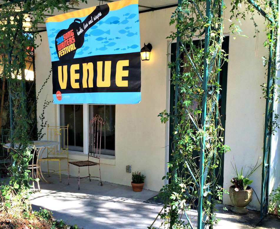 30A Songwriters Festival venue, Hibiscus Coffee and Guesthouse