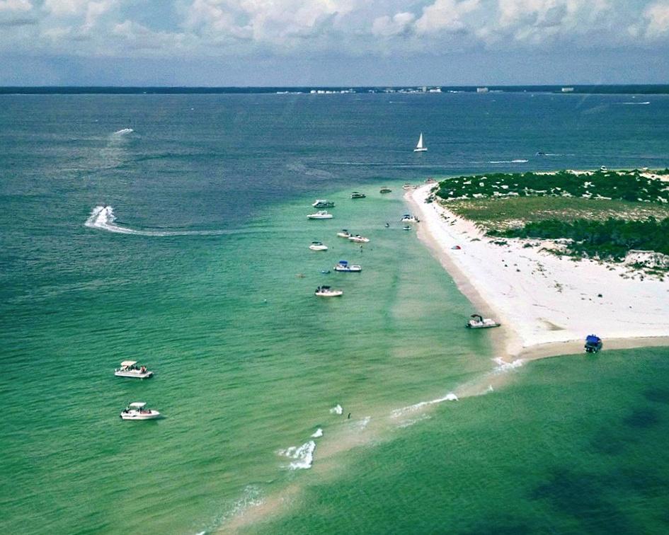 Shell Island in Panama City Beach, Florida