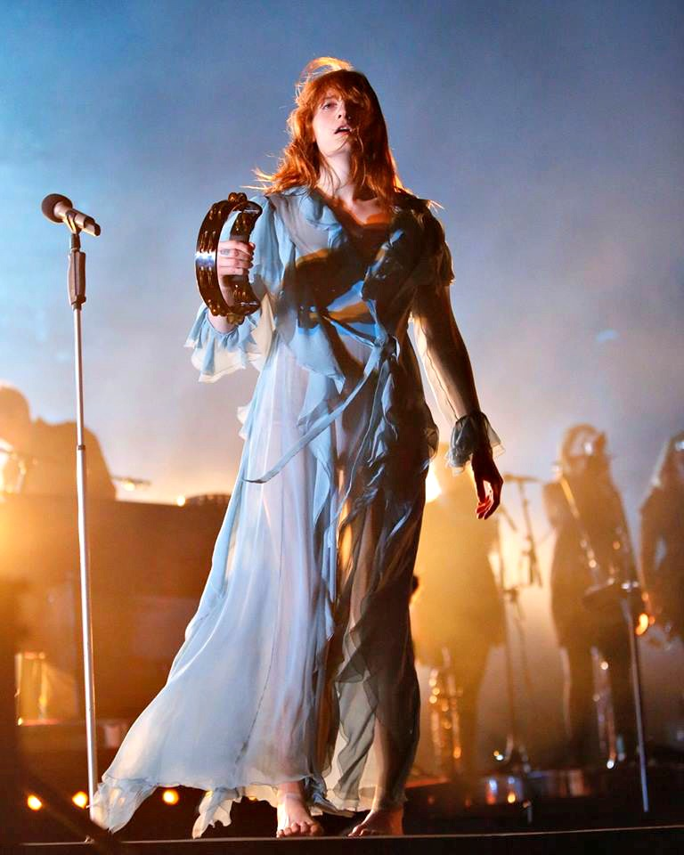 Florence + The Machine onstage at Hangout Music Fest 2016 in Gulf Shores, AL