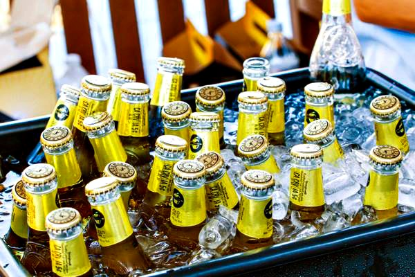 Beers on ice at Baytowne Wharf Beer Festival at Sandestin Golf and Beach Resort