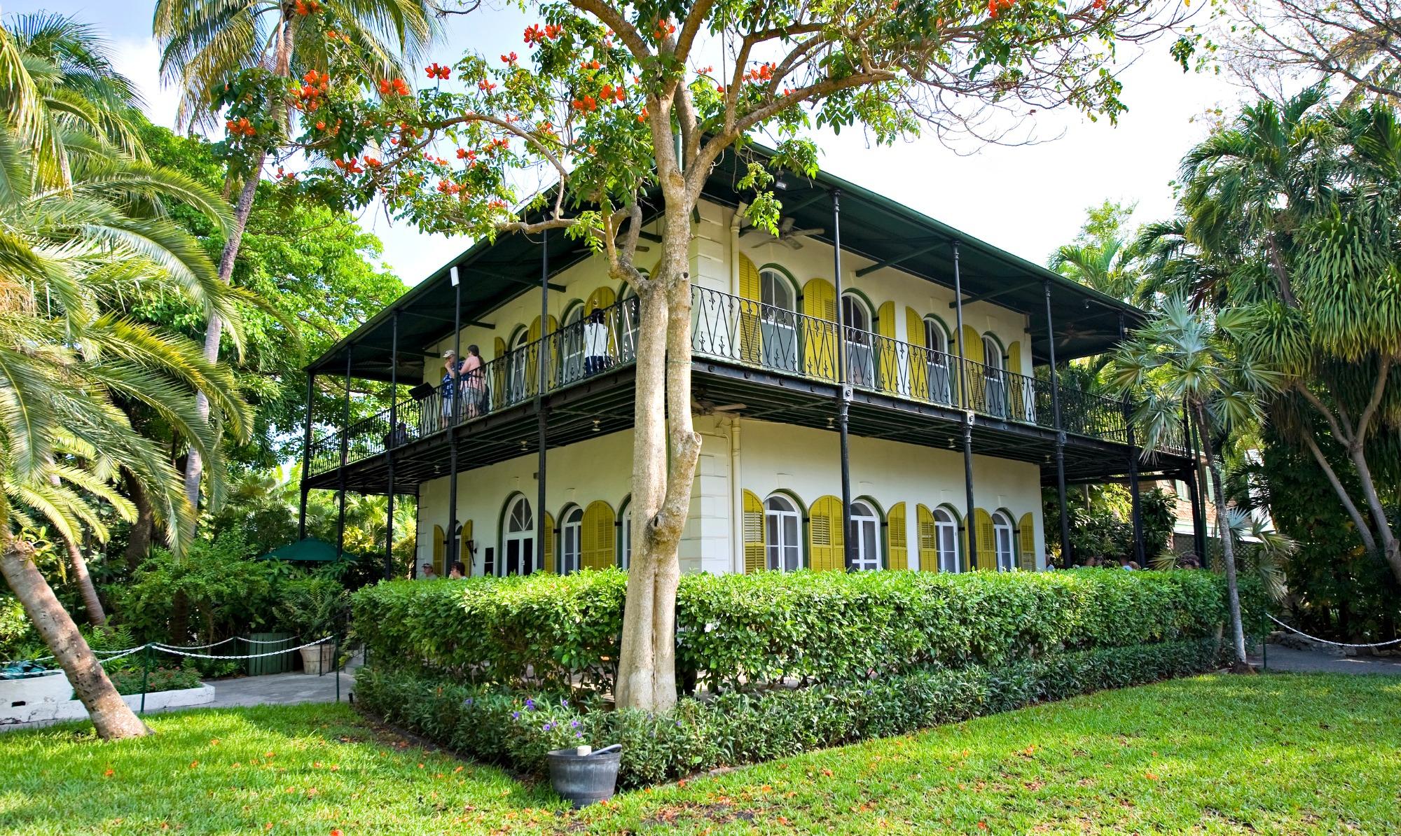 Ernest Hemingway's house in Key West