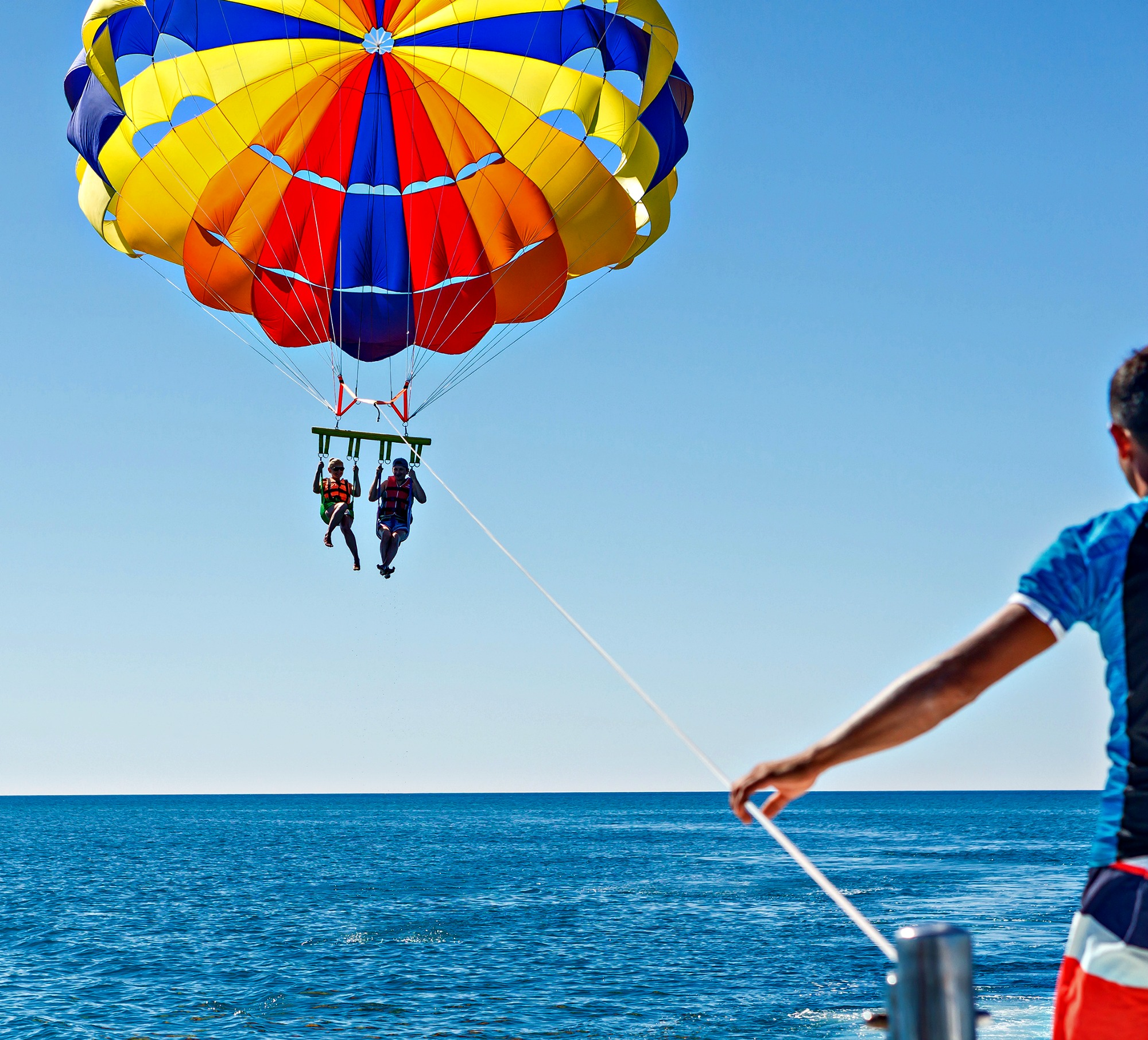 Parasailing in Destin FL