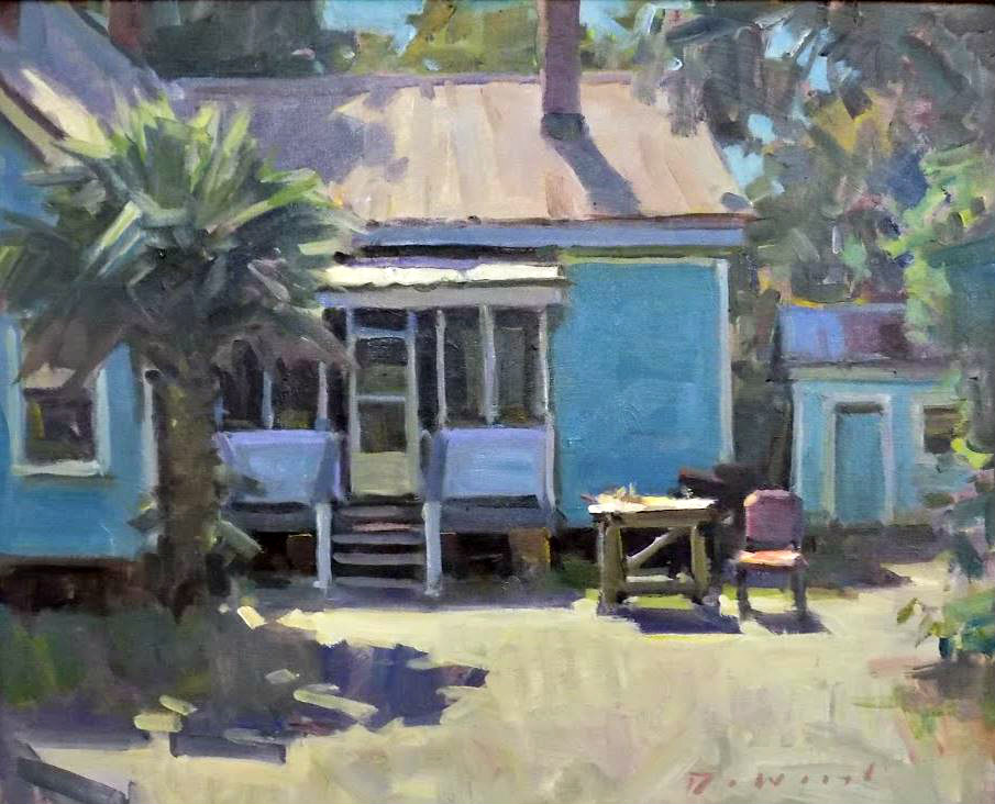 Example of En Plein Air painting for Forgotten Coast en Plein Air Paint-Out