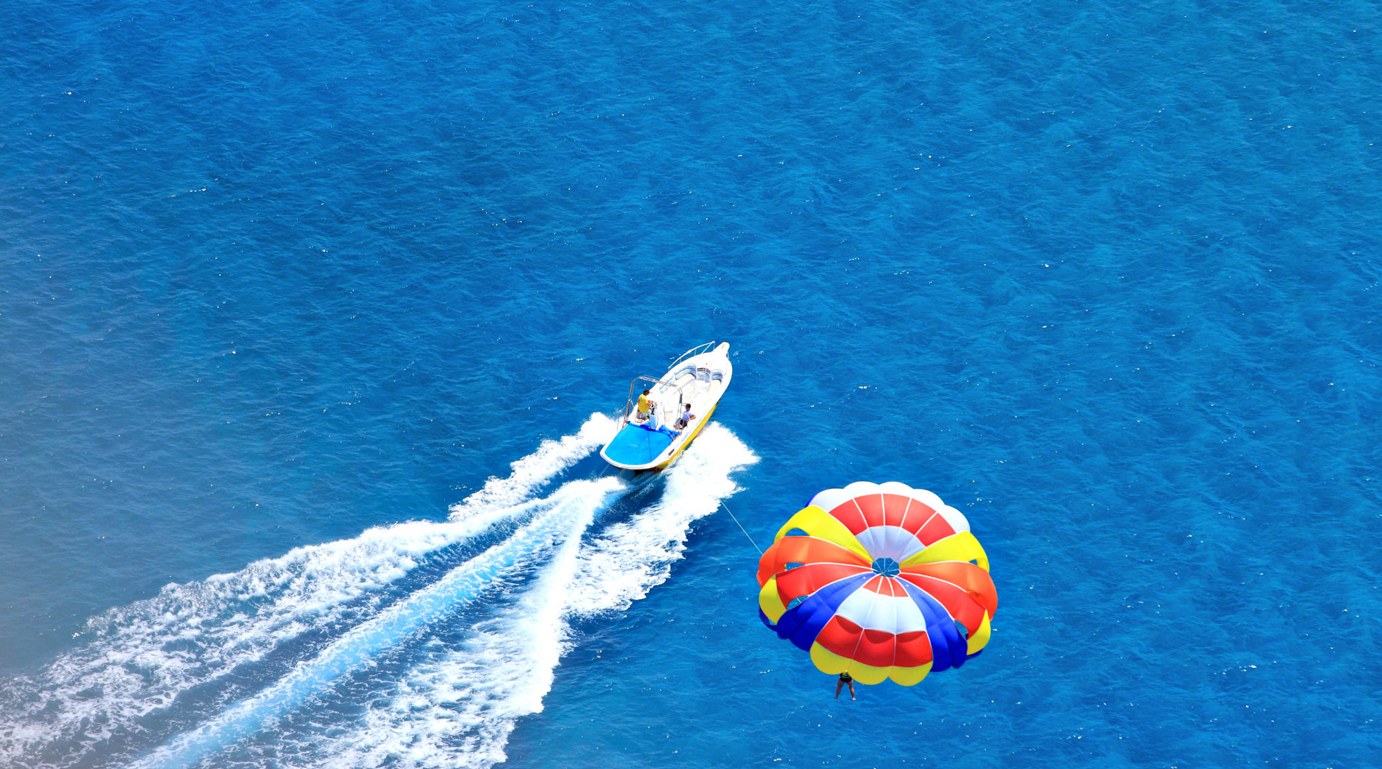 Parasailing in Gulf Shores