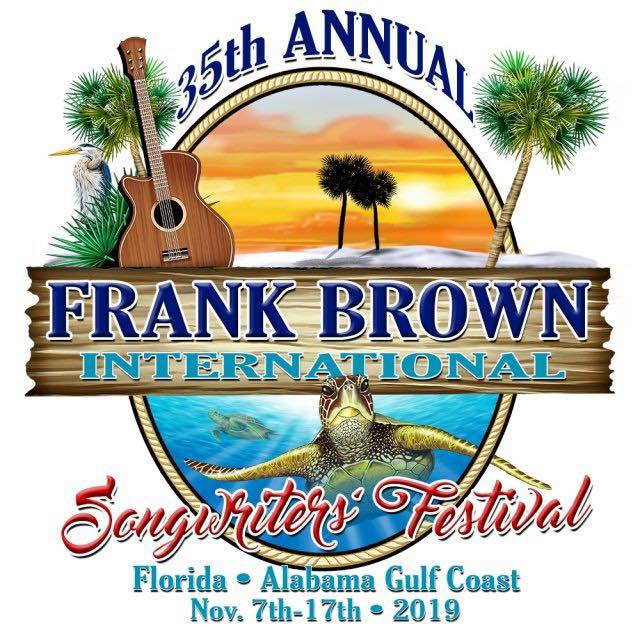 35th annual Frank Brown International Songwriters' Festival logo