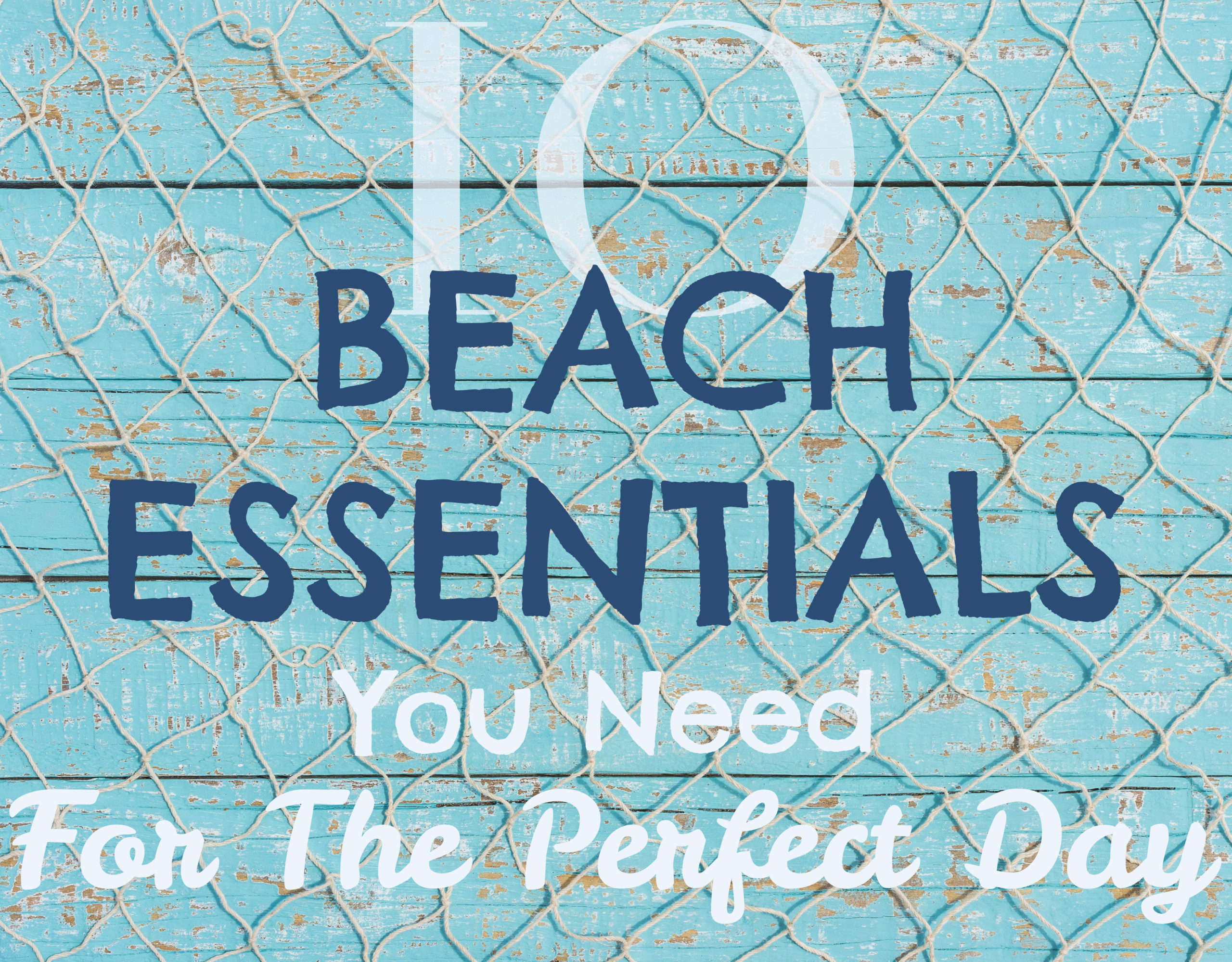 beach essentials list