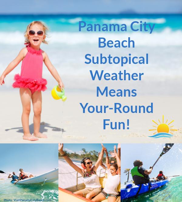 Families enjoy year round fun in Panama City Beach, Florida
