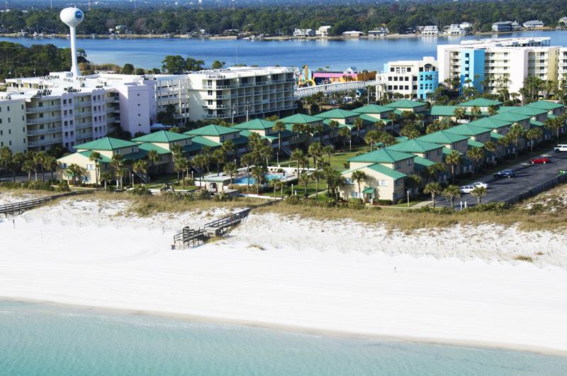 Beachfront Seaspray Condos are an excellent choice for a beach wedding.